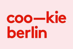 Visual Graphc nirtober: Cookie Hotel Berlin on Behance ... #logo