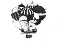 Ilustrações de Temujin Doran | Designlov #illustration