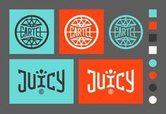 #typography #branding #logotype #retro #circle