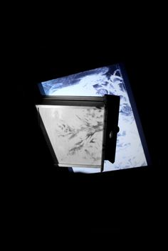 Drawing Exhibition Response Alice Critchley #projection #white #design #alice #black #critchley #and #drawing