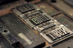 Graphic-ExchanGE - a selection of graphic projects #letterpress #vintage #typography