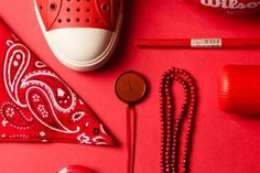 Things Organized Neatly #red