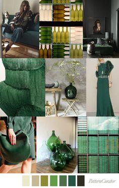 BOTTLE GREEN – Pattern Curator