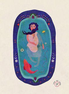 Friday, January 11, 2013 #maheswari #illustration #janarthan