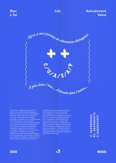Bien a toi #design #graphic #poster #typography