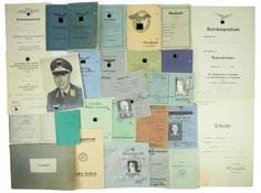 Documents estate of a Lieutenant of the 2. Season - Erg.-Battle group 3.