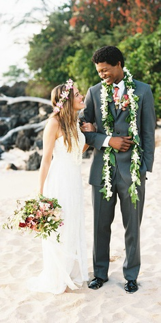 All eyes are on you, look and feel radiant in these special Hawaiian beach wedding dresses. So, why not make your wedding magical?