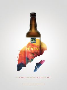 Upland Sour Ales: Revive #Upland #Sour #Beer #Bottle #Packaging #Cina #Poster