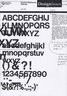 Paul Shaw Letter Design » Design Issues #typography #design #shaw #helvetica #issues #paul
