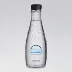 Gudaiuri Water on Behance #mountain #water #branding #gudauri #corporate #identity #mineral #logo