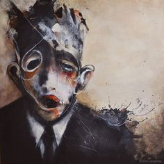 Painting by Eric Lacombe #painting #art
