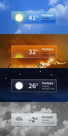 Various weather interface with temperature Free Psd. See more inspiration related to Box, Weather, Psd, Material, Interface, Strip, Temperature, Vertical, Various and Psd material on Freepik.