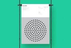 "thedsgnblog:Duane Dalton | http://duanedalton.com""A tribute poster series that focus on the circular forms present in the designs o"