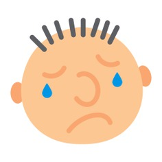 See more icon inspiration related to sad, face, crying, emoticon, suffering, faces, emoticons, square, rounded and interface on Flaticon.