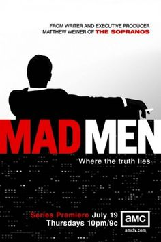 Mad Men TV Poster - Internet Movie Poster Awards Gallery #mad men