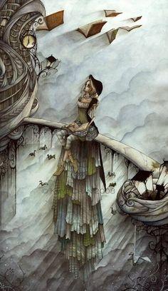 Illustrations by Kmye Chan | Cuded #chan #illustrations #kmye