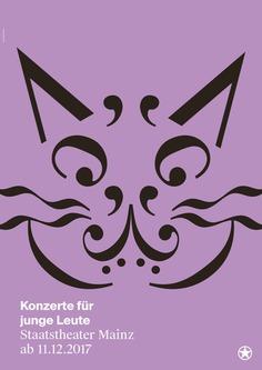 Staatstheater Mainz – Concert for Children (Poster)