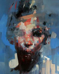Ryan Hewett | PICDIT #design #portrait #painting #art #artist