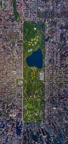 B U I L D #central #park #ny #new #york #birds #eye