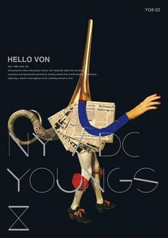 Visual Idntity of ADC Young Guns 8 on the Behance Network #print #illustration #identity #poster #adc #typography