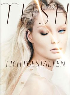 Stylesight | Melissa Tammerijn by Txema Yeste for Tush 2012 #layout #typography