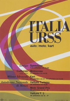 Max Huber, Italia Urss, 1966