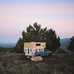van-life:Model: Jeep Comanche with a FWC Location: Santa Barbara, CA Photo: Foster Huntington #polerstuff