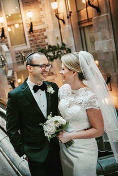 One of the great trends in weddings that we've seen in the past few years — and definitely in 2018 — is couples tailoring vows to really make them their own, as a way to symbolize their commitment to each other through words. Even if you don't come from a religious background, using traditional vows as the base for your own can help give an amazing sense of tradition and romance.