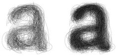 2003_ScratchedLetter.jpg (imagen JPEG, 670 × 327 píxeles) #illustration #typography