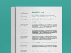 Minimal Resume Template for Any Industry