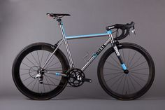 Stainless Steel Ritte Bikes Snob with custom paint. #bike #bikes #bicycling #cycling