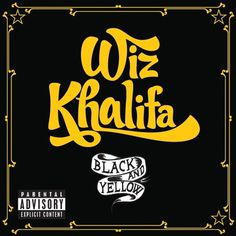 wiz-black-yellow.jpeg (JPEG Image, 1425x1425 pixels) #blackyellow #hiphop