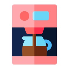 See more icon inspiration related to food and restaurant, espresso, coffee machine, coffee maker, coffee cup, hot coffee, hot drink, electronics and machine on Flaticon.