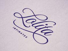 Lolita d #type #logotype