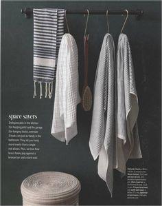 <3 fouta towels #towels #organization #bathroom