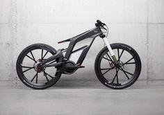 audi e bike 3 – Fubiz™ #saudi #mtb #bike
