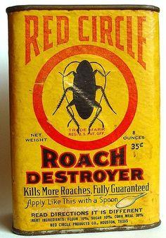 All sizes | 00607-Roach Destroyer | Flickr - Photo Sharing! #vintage #label