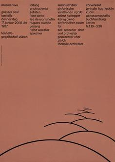 Josef Müller-Brockmann: Posters | Sgustok Design