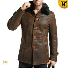 Mens Sheepskin Jacket Clothing CW877307 #sheepskin #mens #jacket
