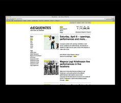 Arnar Freyr Guðmundsson, Graphic designer #website #sequences