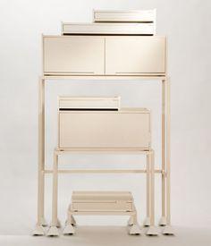 Invader Furniture Series Design by Maria Bruun #interior #creative #modern #design #furniture #architecture #art #decoration