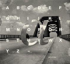 MSCED #typography #alphabet #marius #roosendaal