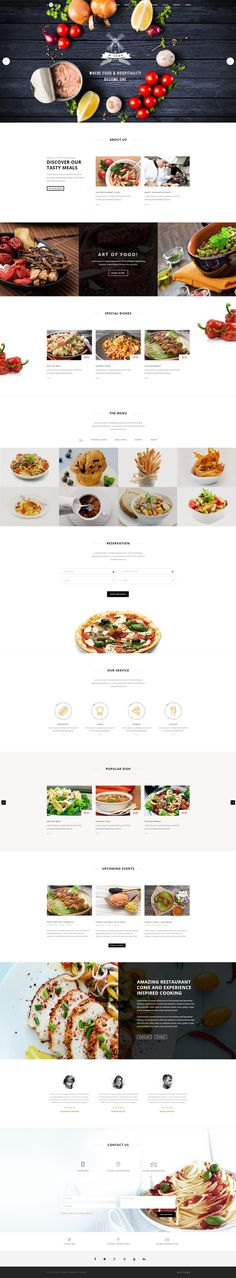 H-Code #Responsive & #Multipurpose #OnePage and #MultiPage #Template For #Restaurent by #ThemeZaa http://goo.gl/ygs4kX
