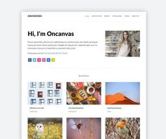 Free Minimal Portfolio Wordpress Theme