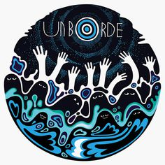 Onesidezero Illustration : Artwork by Brett Wilkinson #warner #flowing #vector #water #asia #unborde #brett #onesidezero #sphere #art #wilkinson #records