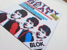 Blok Nightclub Promo | Flickr - Photo Sharing! #creative #branding #print #design #graphic #pulp #recycled #uti