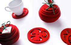 Monika-Ostaszewska-Olszewska-Legajny-table-coaster-01.jpg #tomato #coaster