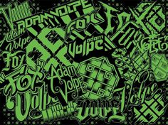 Adam Volpe #pattern #typography