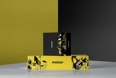 """Motus Skateboard Branding - Mindsparkle Mag """"Motus"""" (in Latin meaning movement) is a young skateboard company. The designer behind this brand is Leandra Rexhepi who got inspired by the most important Italian avant-garde art movement of the 20th century, the Futurism. #branding #identity #design #color #photography #graphic #design #gallery #blog #project #mindsparkle #mag #beautiful #portfolio #designer"""