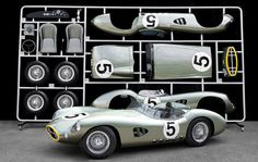 Classic Aston Martin racer turned into life size model kit art Yahoo! Autos #car